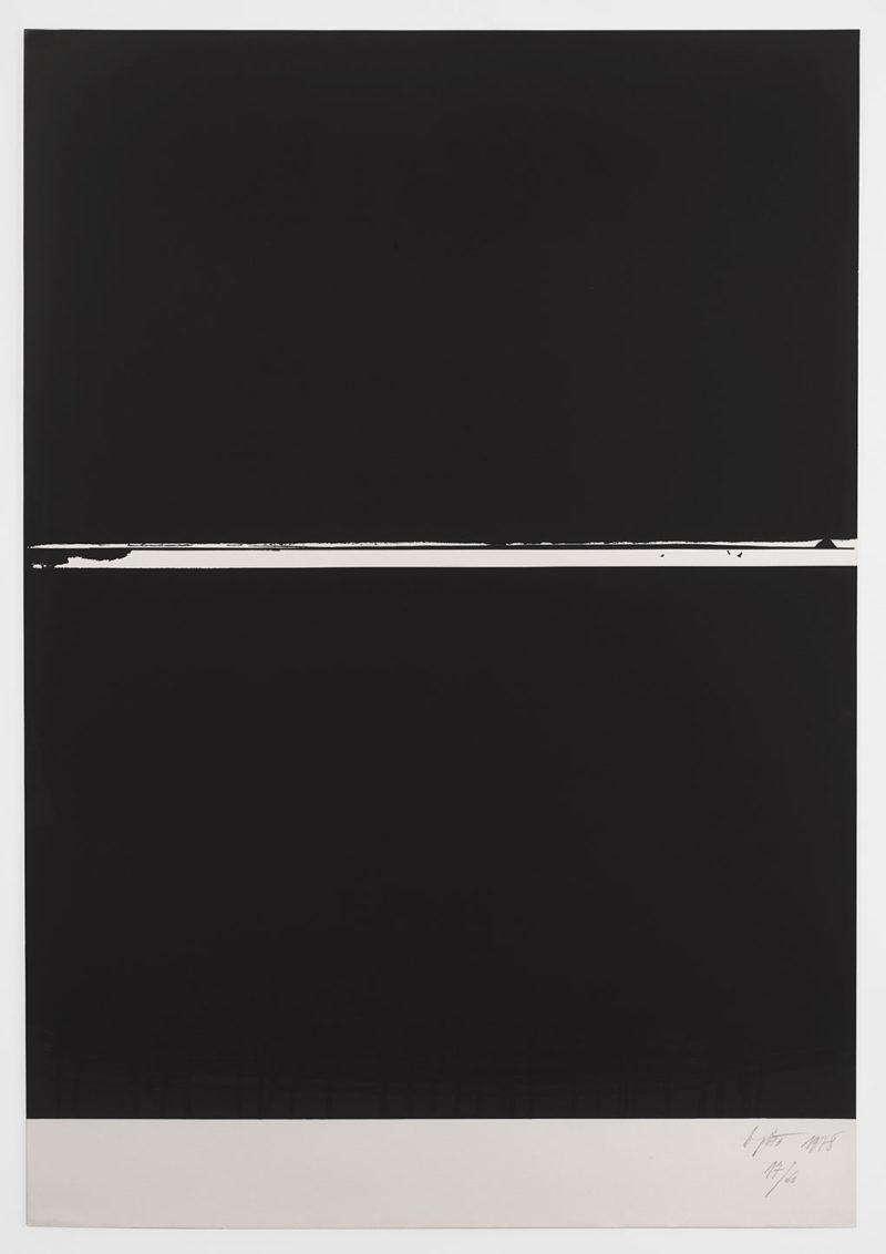 Jean Degottex - série de Média, 1968