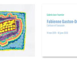 Carton d'invitation Fabienne Gaston-Dreyfus